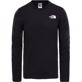 The North Face Easy - Camiseta de manga larga Hombre - negro